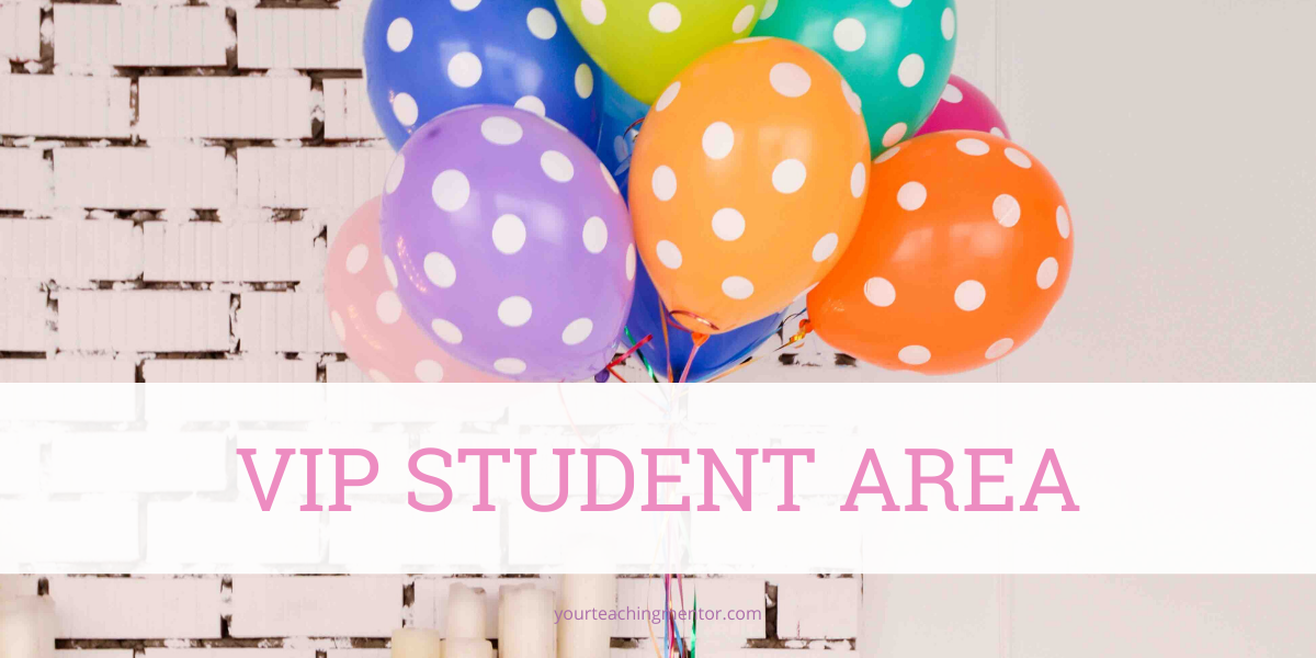 VIP Student Area