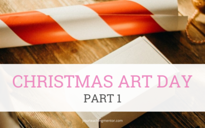 Christmas Art Day, Part 1